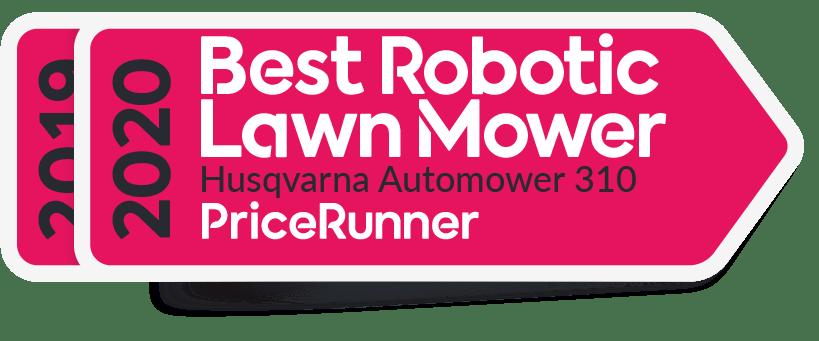 Badge Best Robotic Lawn Mower Pricerunnercom 20192020 Husqvarna Automower 310