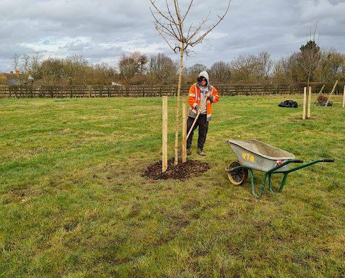Broughton and Middleton Tree Planting 2
